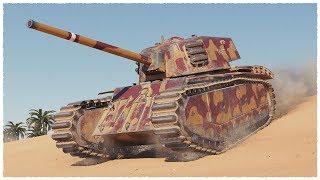 ARL 44 • 6100 damage on TIER 6 Heavy Tank • WoT Gameplay