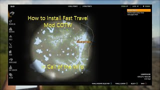 How to install fast travel Mod