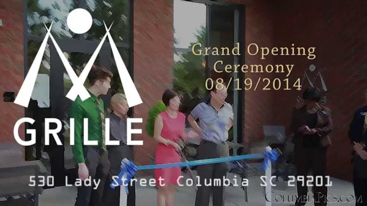 An unexpected video oportunity at M Grille's ribbon cutting ceremony