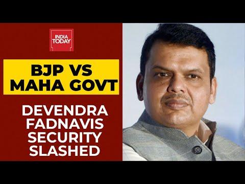 महाराष्ट्र सरकार देवेंद्र फडणवीस, राज ठाकरे यांचे सुरक्षा कवच; भाजप वेंडेटा ओरडतो