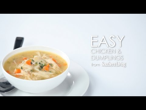 How to Make Easy Chicken and Dumplings