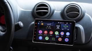 Central Multimídia JOYING 7 Polegadas Android 6.0  1 Din (Som Automotivo)