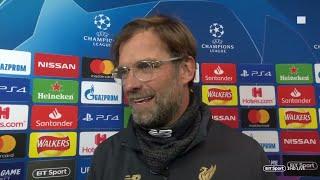 Jurgen Klopp Reacts To Liverpool's 0-0 Draw With Bayern Munich - UEFA Champions League