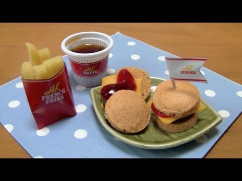Candy Concoction Looks And Tastes Like A Burger, Fries And Soft Drink