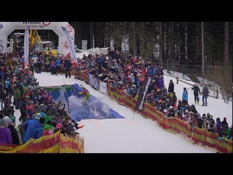 Jízda přes louži Špičák  - © Ski&Bike Špičák