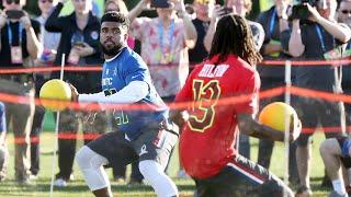 Download Youtube: Dodgeball: Pro Bowl Skills Showdown | NFL