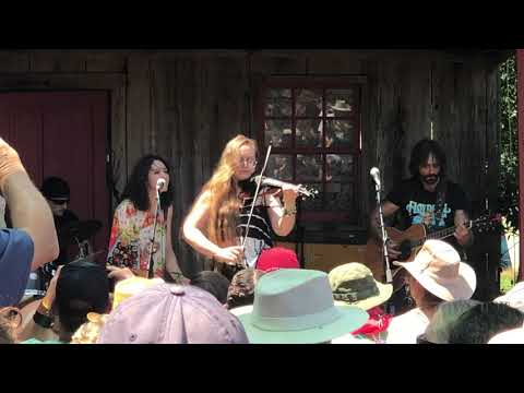 Playing with my band Tuatha Dea at Floydfest last year!