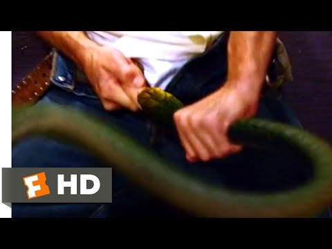 Snakes on a Plane (2006) - Snake in the Restroom Scene (1/10) | Movieclips (видео)