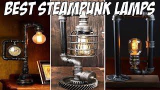 Best Steampunk Desk Lamp Designs 2019 | Industrial Table Lamps Gift Ideas