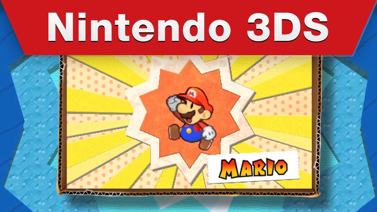 10 Minutes Of The New Paper Mario Is Not Enough