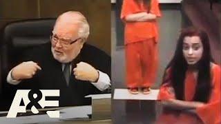 Court Cam: Woman Curses At A Judge (Season 1) | A&E