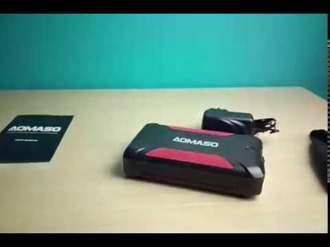 Cargador portátil de 42000 mAh, Batería Externa multipropósito, perfecta para camping