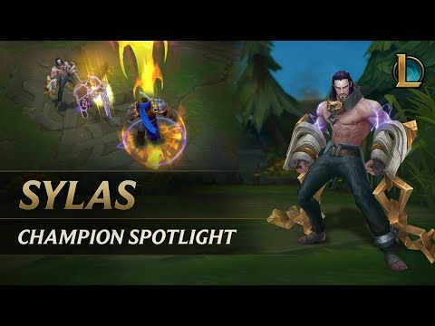賽勒斯Sylas官方英雄聚光燈