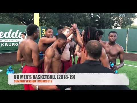 UH Men's Basketball (2018-19) Summer Session 1 Workouts