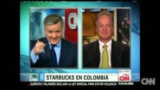 Starbucks a la conquista de Colombia