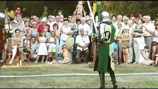 Часть 6 Литва Аникщяй 2010 Праздник в Центре Аникщяй, день города, рыцарские бои, салют