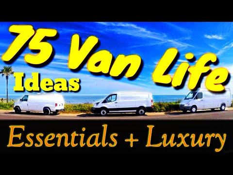 INSPIRATION for VAN LIFE   75 DIY Van Life IDEAS   Essential