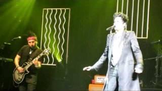 Adam Lambert Loaded Smile River Rock 4-9-10