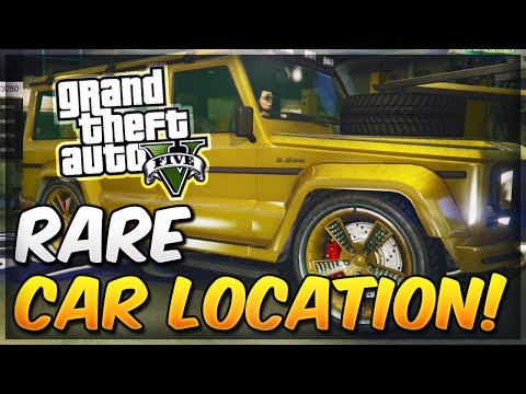 GTA 5 Secret & Rare Cars - Free Fully Customized Benefactor Dubsta Spawn Location Online!
