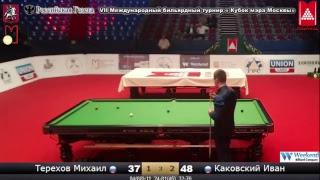 Финал Каковский Иван (RUS) - (RUS) Терехов Михаил