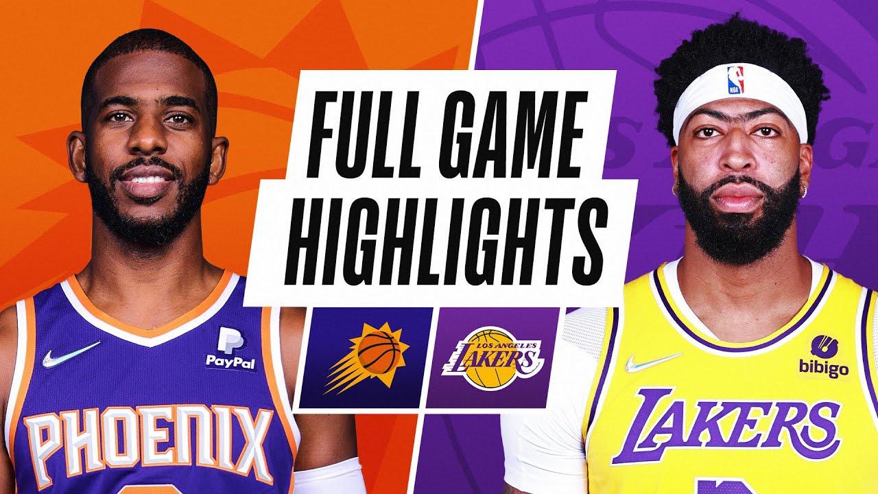 SUNS at LAKERS | NBA PRESEASON FULL GAME HIGHLIGHTS | October 10, 2021