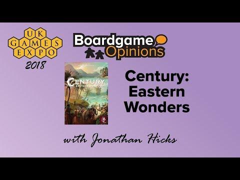 Boardgame Opinions: Century: Eastern Wonders
