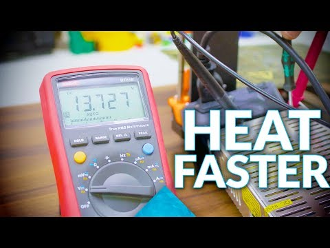 How to get your 3D printer hot - faster!