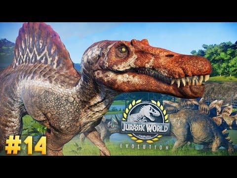 The WILD DINOSAURS Of SITE B | Jurassic World: Evolution (Story Part 14)