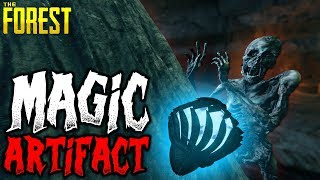 The Forest | SUMMON CANNIBALS WITH NEW ARTIFACT | 1 Life Challenge 18 | HARD SURVIVAL