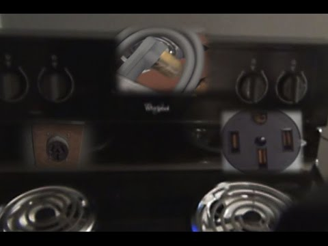 How To Connect A Power Cord To An Electric Range   Stove  Which One To Use
