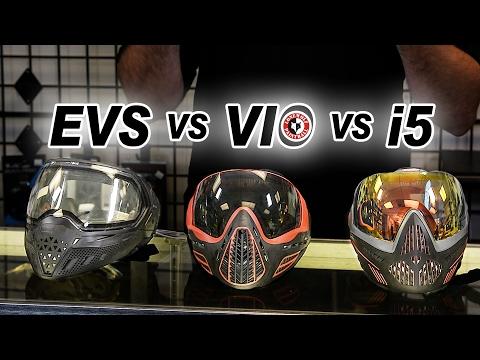 Virtue VIO Ascend Unboxing, Review & Comparison vs EVS vs Dye i5 Paintball Masks