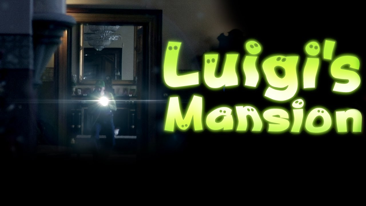 Luigi's Mansion Is Real And It's A Bit Scary…