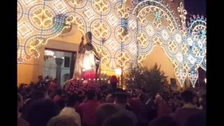 preview picture of video 'La stupenda Processione di San Nicola a Gualtieri Sicamino' (26 Agosto 2012)'