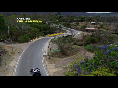 Carretera Estelí- La Garnacha un sueño hecho realidad