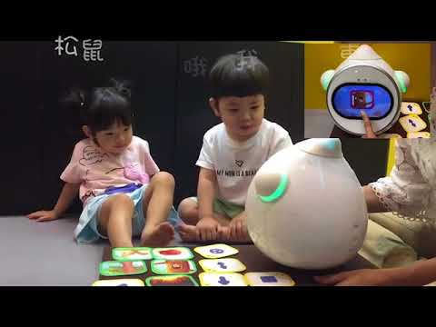 Keeko 機器人編程-大樹和松鼠