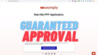 $100,000 PPP LOAN HACK WITH WOMPLY.COM