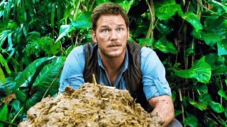 JURASSIC WORLD Deleted Scene  Dino Poop 2015 Chris Pratt Dinosaur Movie HD