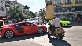 SUPERCARS IN INDIA (September 2018) Bangalore Part 2 - 911 GT3, GT Street R & more