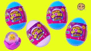 Glitzi Globes Surprise Eggs ! Water Glitter Toys - Cookie Swirl C Video
