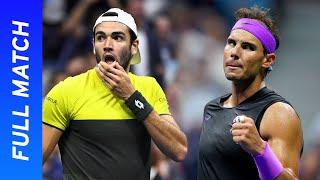 Matteo Berrettini vs Rafael Nadal Full Match | US Open 2019 Semifinal