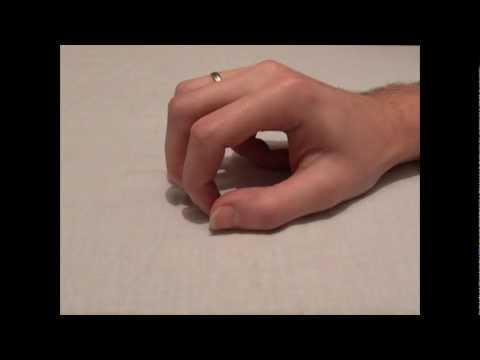 Narośl guz na palec