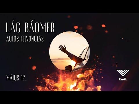Lág Báómer autós felvonulás Budapesten   2020.05.12.