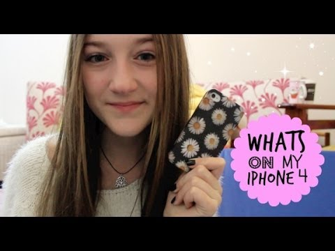 Whats on my iPhone 4 2014!