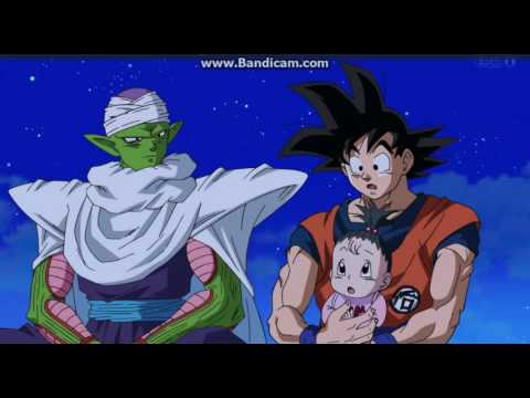 Dragon Ball Super episode 43 Goku playing with Pan~