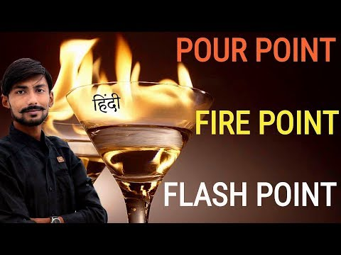FLASH POINT , FIRE POINT & POUR POINT 💥 🔥🔥 FULL CONCEPT in hindi