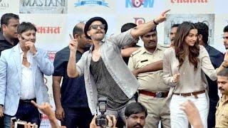 UNCUT: Gajanana Official Song Launch | Bajirao Mastani | Ranveer Singh & Deepika Padukone