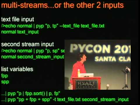 Image from The Pyed Piper: A Modern Python Alternative to awk, sed and Other Unix Text Manipulation Utilities