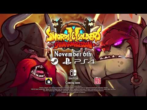 Swords and Soldiers 2 releases in November on PC and PS4! (ESRB) thumbnail