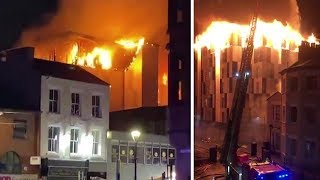 video: Bolton fire: Blaze which tore through student accommodation branded 'catastrophic failure' in fire safety
