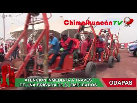 PRESENTAMOS PLAN DE CONTINGENCIA PARA LA TEMPORADA DE LLUVIAS